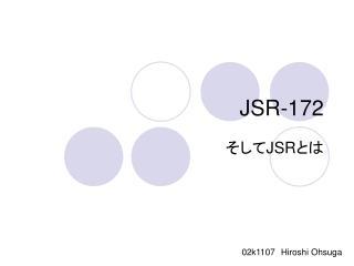 JSR-172