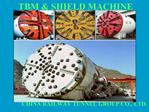 TBM  SHIEL MACHINE