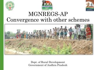 MGNREGS-AP Convergence with other schemes