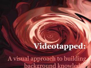 A visual approach to building background knowledge