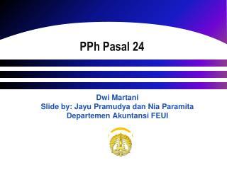 P Ph Pasal 24