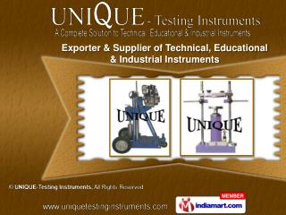Concrete Testing Instruments &  Rock Testing Instruments