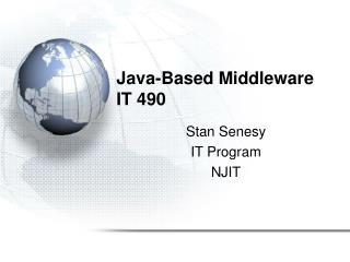 Java-Based Middleware IT 490