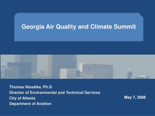 Georgia Air Quality and Climate Summit