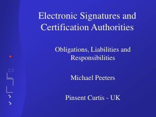Understanding Electronic Signatures