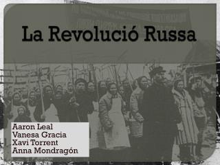La Revolució Russa