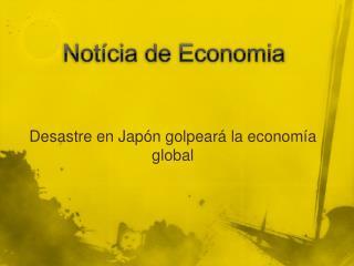 Notícia de Economia