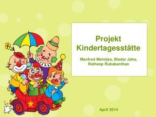 Projekt Kindertagesstätte