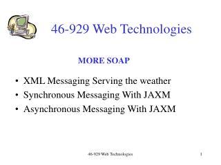 46-929 Web Technologies
