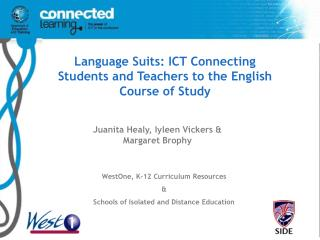 Language Suits: ICT Connecting Students and Teachers to the ...