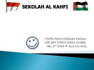 Profile Aktivis Dakwah Kampus LDK JAFI STIKES SURYA GLOBAL Mei 2 nd  2009 @ Aula Ust Aniq