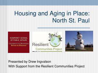 Housing and Aging in Place: North St. Paul