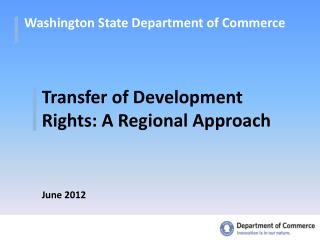 Washington State Department of Commerce