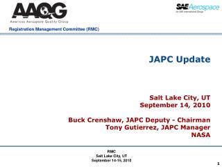 JAPC Update