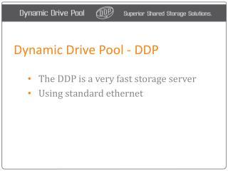 DDP - Dynamic Drive Pool San - How it works