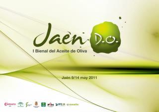 Descripción EXPOLIVA  se configura como la Feria del Aceite de oliva más importante del mundo.
