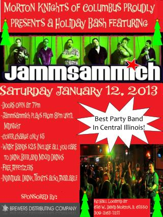 Best Party Band In Central Illinois!