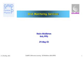Grid Monitoring Services