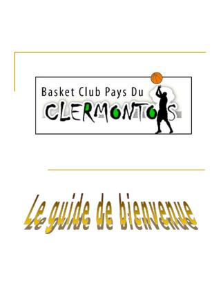 Le guide de bienvenue