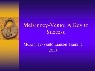McKinney-Vento: A Key to Success