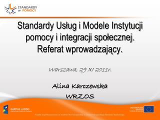 Alina Karczewska WRZOS