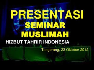 SEMINAR  MUSLIMAH