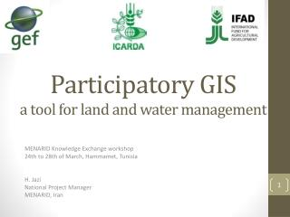 Participatory GIS a tool for land and water management
