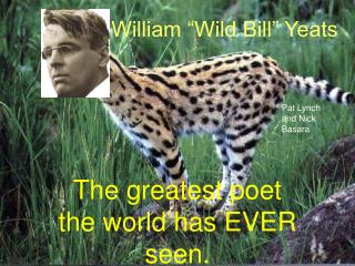 "William ""Wild Bill"" Yeats"