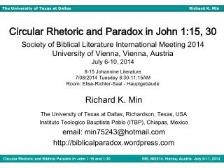 Richard K. Min The University of Texas at Dallas, Richardson, Texas, USA