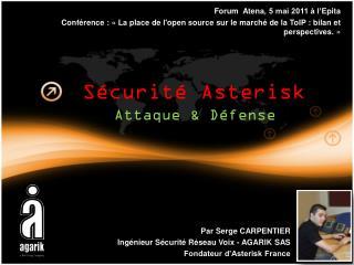 Sécurité Asterisk