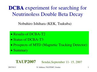 DCBA  experiment for searching for Neutrinoless Double Beta Decay