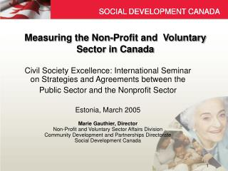 Measuring the Non-Profit and  Voluntary Sector in Canada