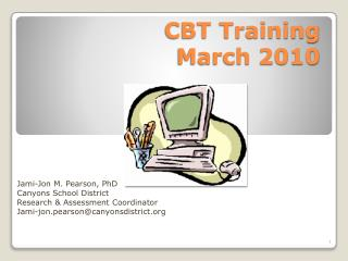CBT Training March 2010