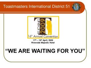 Toastmasters International District 51