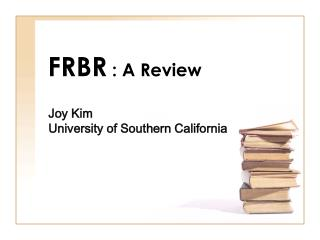 FRBR  : A Review