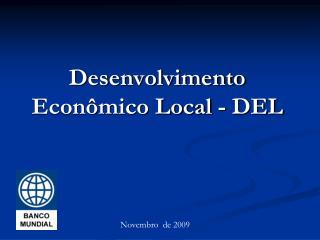 Desenvolvimento Econômico Local - DEL