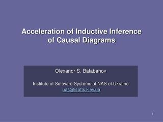 Acceleration of Inductive Inference  of Causal Diagrams