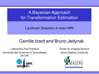 A Bayesian Approach for Transformation Estimation