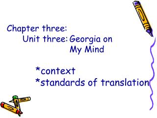 Discussion on the translation of passage 4  ( I )