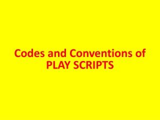 Playscripts