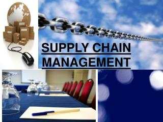 Maruti supply chain management ppt