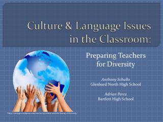Culture & Language Issues in the Classroom: