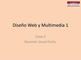 Diseño Web y Multimedia 1