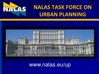 NALAS TASK FORCE ON URBAN PLANNING