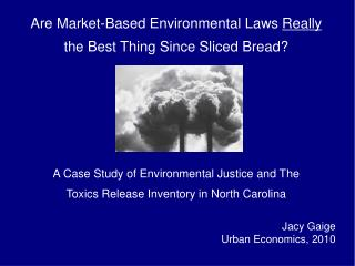 Are Market-Based Environmental Laws  Really the Best Thing Since Sliced Bread?
