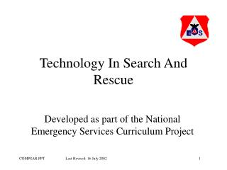 Technology In Search And Rescue
