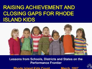 Lessons from Schools, Districts and States on the Performance Frontier