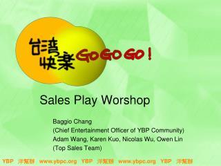Sales Play Worshop