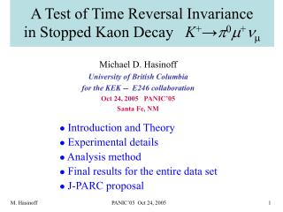 A Test of Time Reversal Invariance  in Stopped Kaon Decay    K + → p 0 m + n 