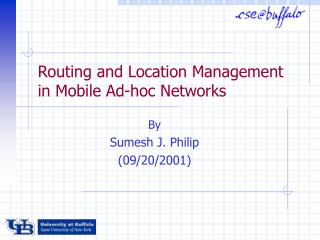 Routing and Location Management in Mobile Ad-hoc Networks
